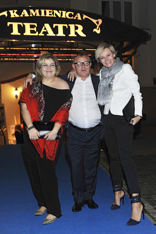 Tadeusz Chudecki z żoną Justyną (na zdjęciu od lewej) /Niemiec /AKPA