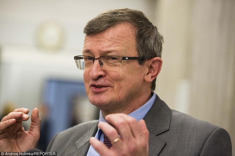 Tadeusz Cymański (PiS) /Andrzej Hulimka/Reporter /Reporter