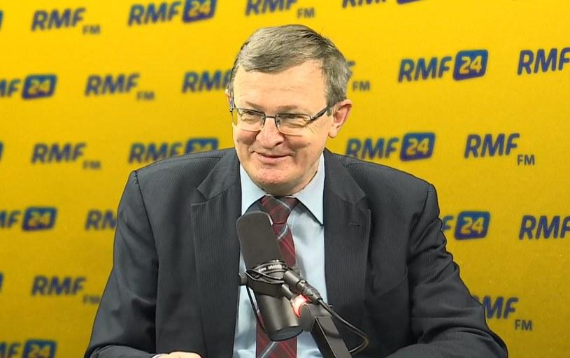 Tadeusz Cymański w RMF FM /RMF