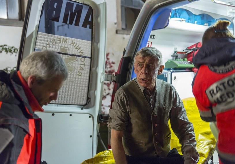"Tadeusz Drzewiecki w serialu ""Komisja morderstw"" /Leszek Kotarba  /East News"