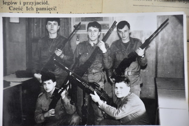 Tadeusz Jakowczyk – pierwszy z lewej w górnym rzędzie /RMF FM