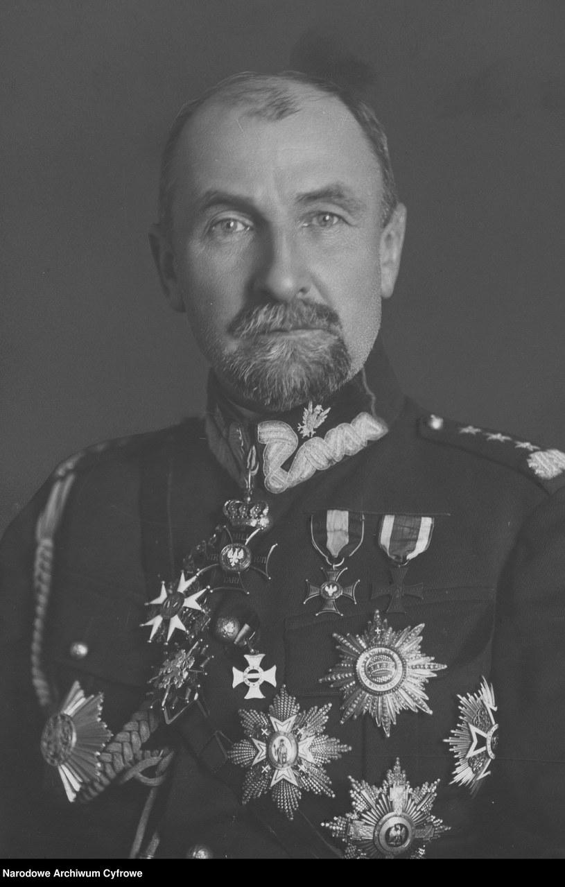 Tadeusz Jordan Rozwadowski /Z archiwum Narodowego Archiwum Cyfrowego