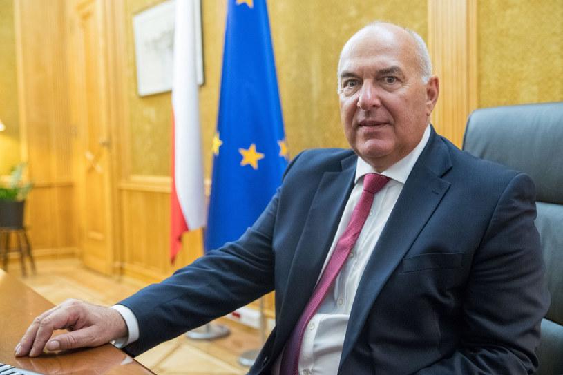 Tadeusz Kościński, minister finansów RP /Andrzej Iwańczuk /Reporter