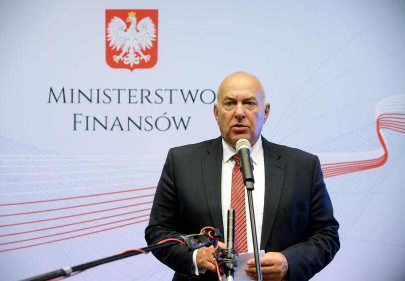 Tadeusz Kosciński, minister finansów /Jan Bielecki /Agencja SE/East News