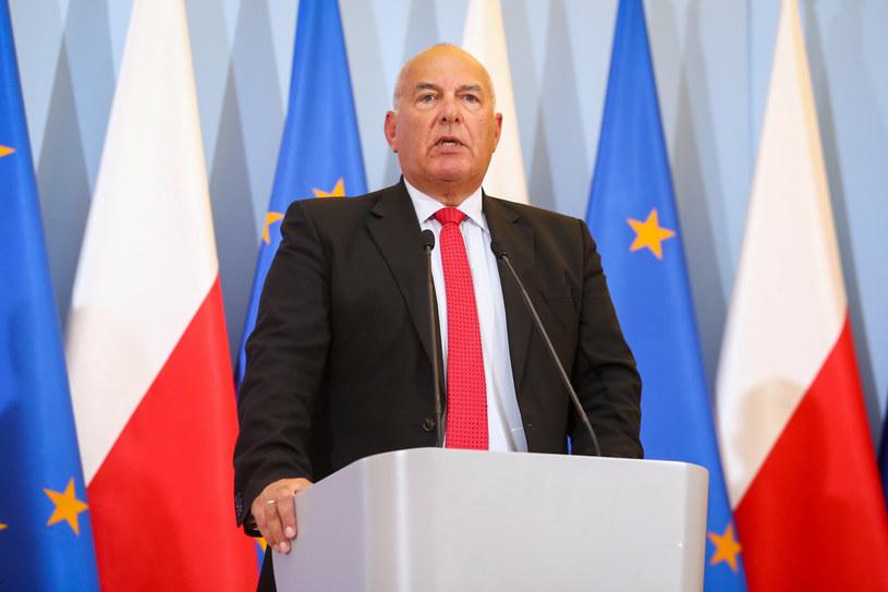 Tadeusz Kościński, minister finansów /Tomasz Jastrzębowski /Reporter