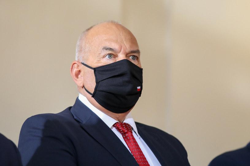 Tadeusz Kościński /fot. Andrzej Iwanczuk/REPORTER /