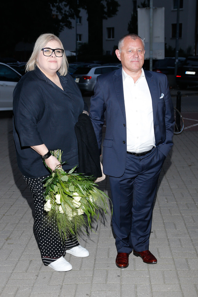 Tadeusz Krzemiński z drugą żoną /Jordan Krzemiński /AKPA