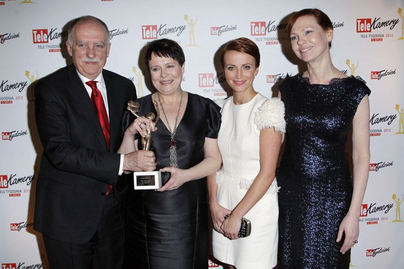 Tadeusz Lampka, Ilona Łepkowska, Katarzyna Zielińska i Olena Leonenko / Engelbrecht /AKPA