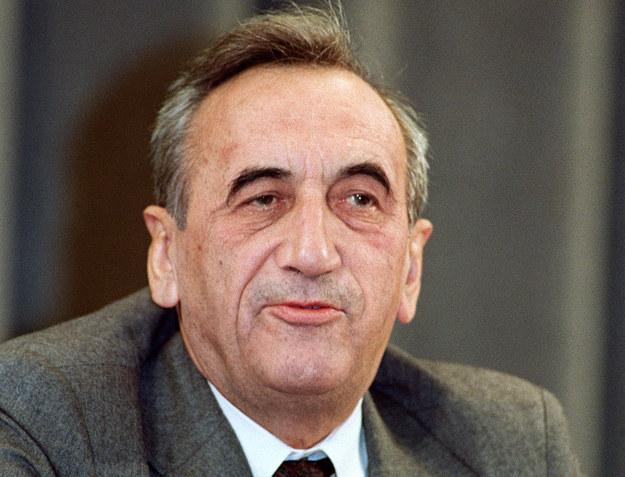 Tadeusz Mazowiecki podczas pobytu w Moskwie /AFP