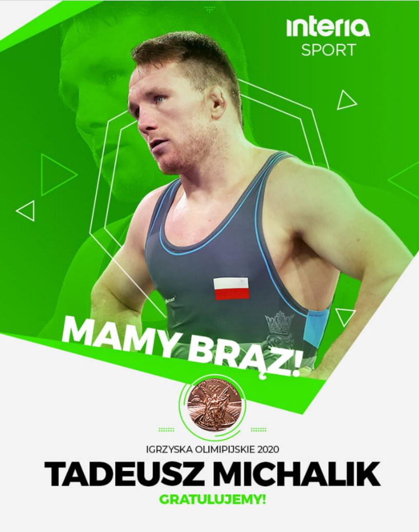 Tadeusz Michalik z brązowym medalem! /INTERIA.PL