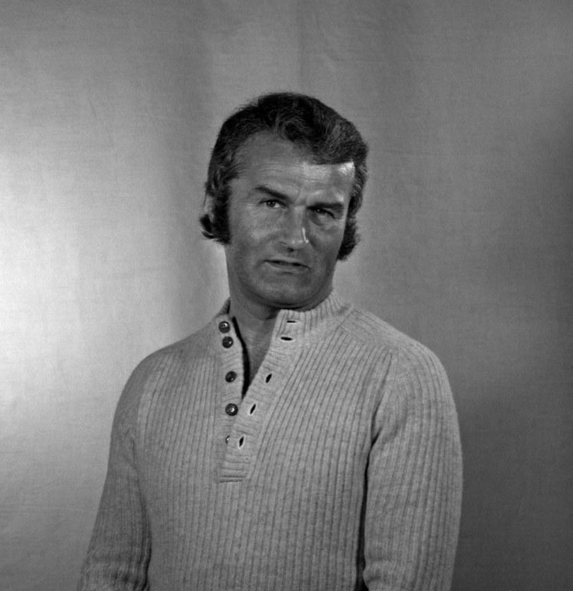 Tadeusz Pluciński w 1974 roku /Jerzy Płoński /Agencja FORUM