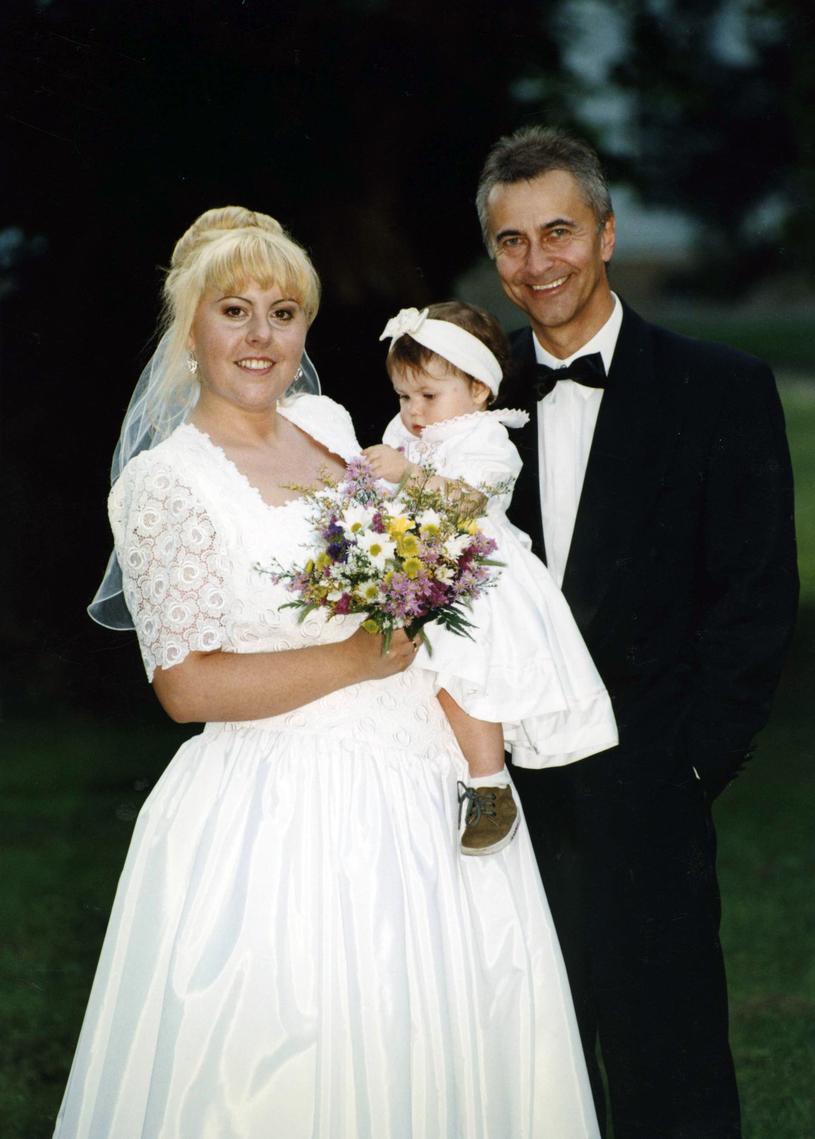 Tadeusz Ross w dniu ślubu /Zenon Zyburtowicz /East News