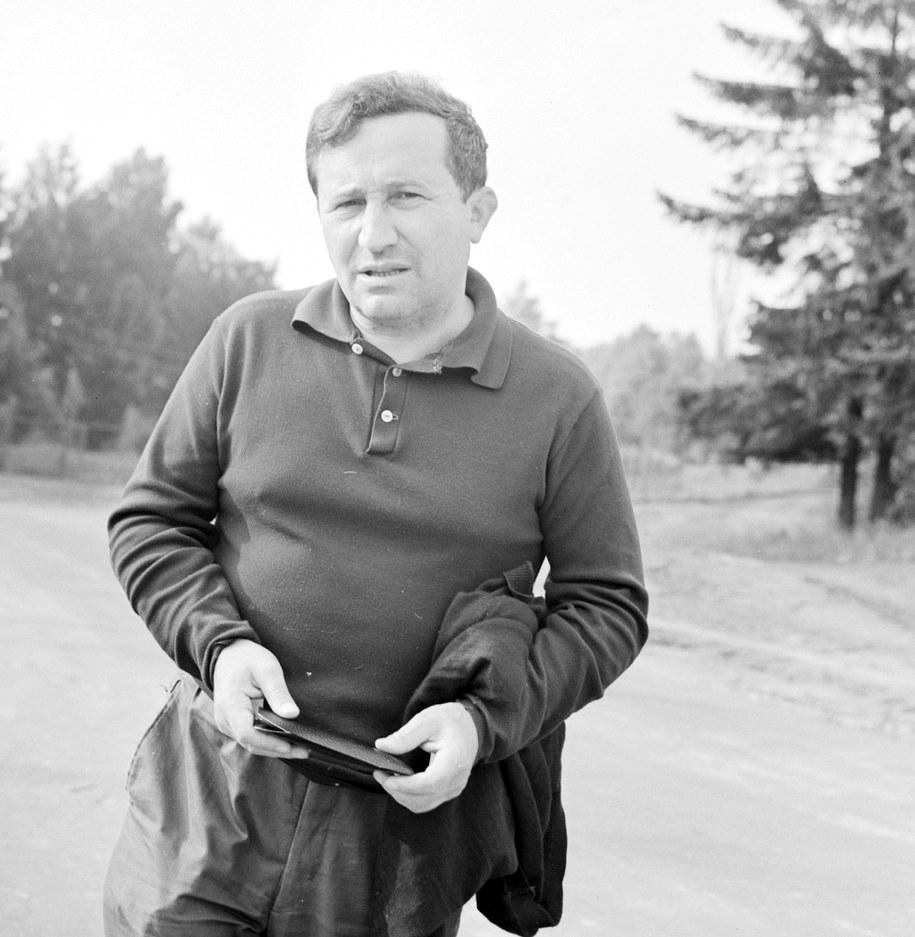 Tadeusz Różewicz, czerwiec 1966 rok /CAF/Stanisław Moroz /PAP