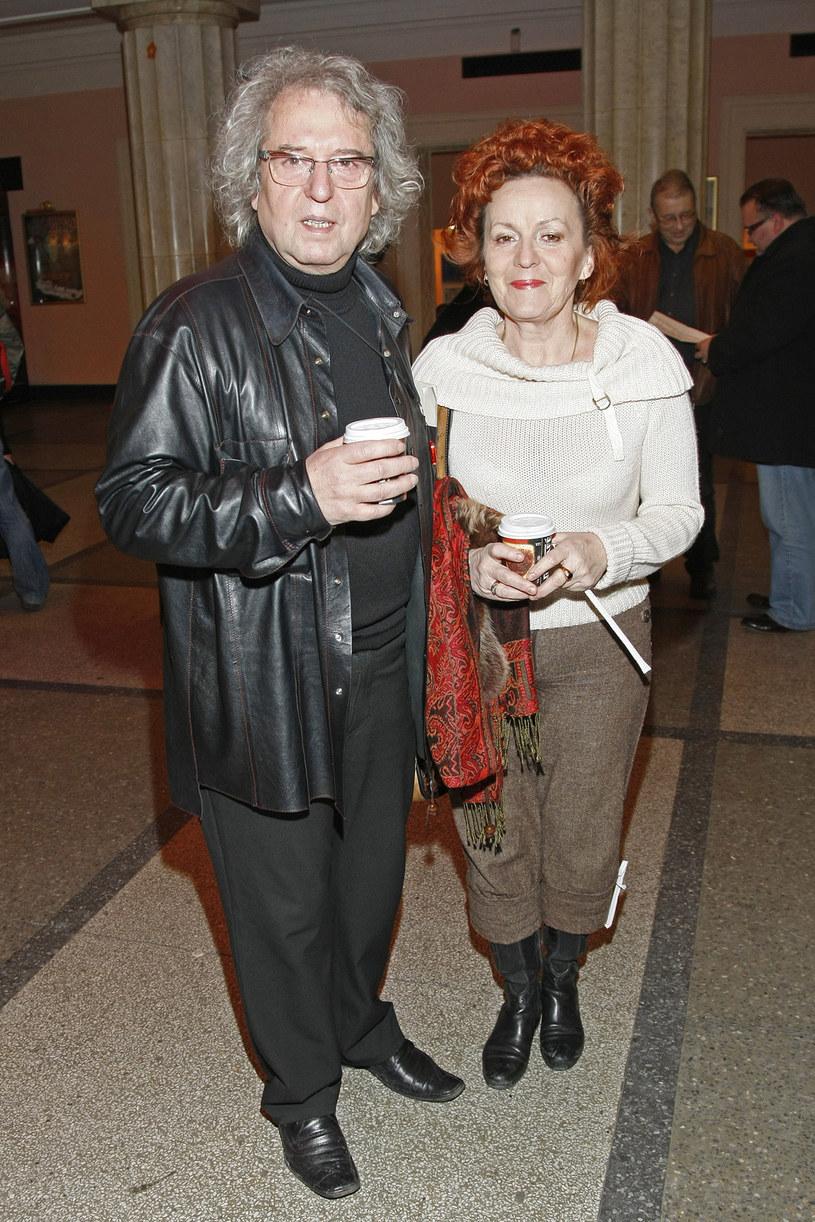 Tadeusz Woźniak z żoną /Engelbrecht /AKPA