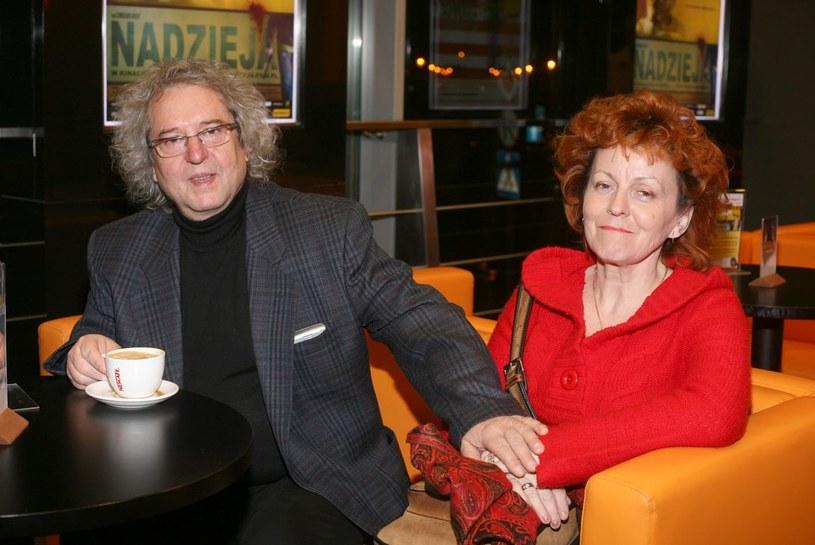 Tadeusz Woźniak z żoną /AIM /AIM