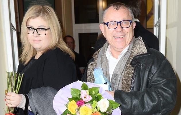 Tadeusz z żoną /- /MWMedia