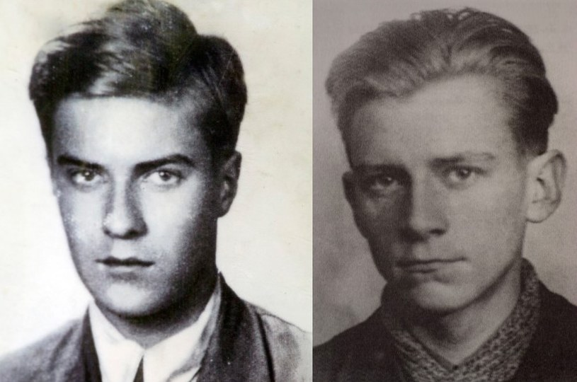 "Tadeusz Zawadzki ""Zośka"" i Jan Bytnar ""Rudy"" /repr. Jan Morek, Marek Skorupski /Agencja FORUM"
