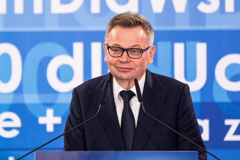 Tadeusz Zysk na konwencji PiS w Poznaniu / Adam Jastrzebowski /Reporter