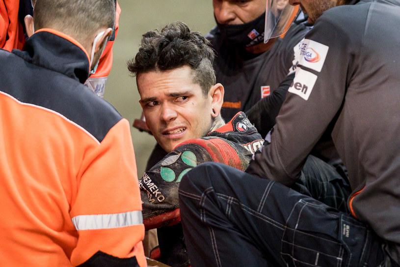 Tai Woffinden nie wyszedł cało z fatalnie wyglądającego wypadku /WOJCIECH TARCHALSKI / CYFRASPORT /Newspix