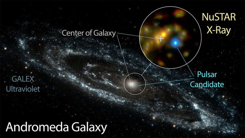 Tajemnice Galaktyki Andromedy wreszcie rozwiązanie /materiały prasowe