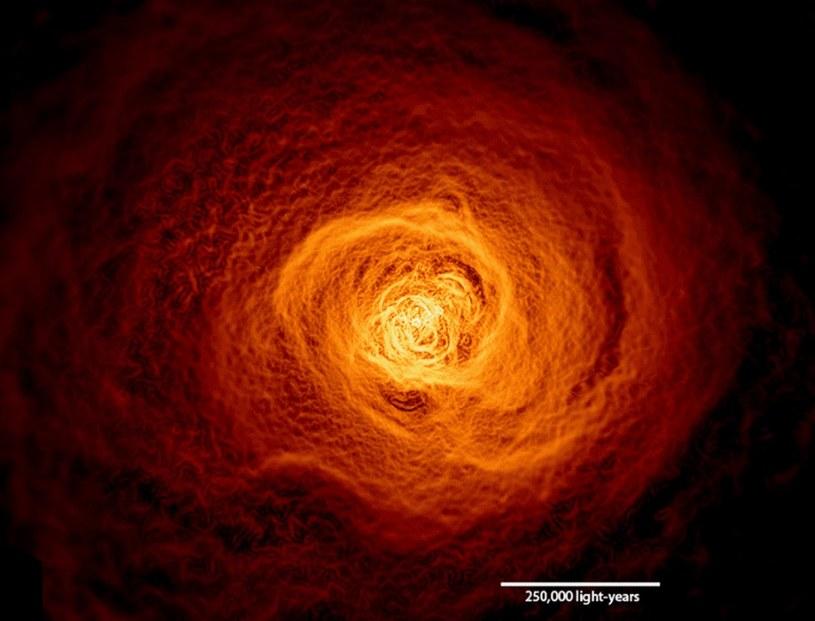 Tajemnicza fala gazu w konstelacji Perseusza /NASA