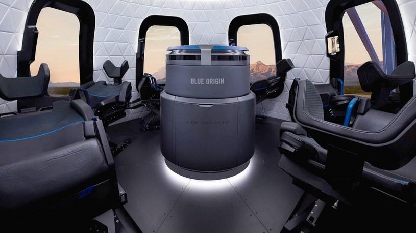 Tajemnicza osoba wydała 28 mln dolarów na lot w kosmos z szefem Amazonu /Geekweek
