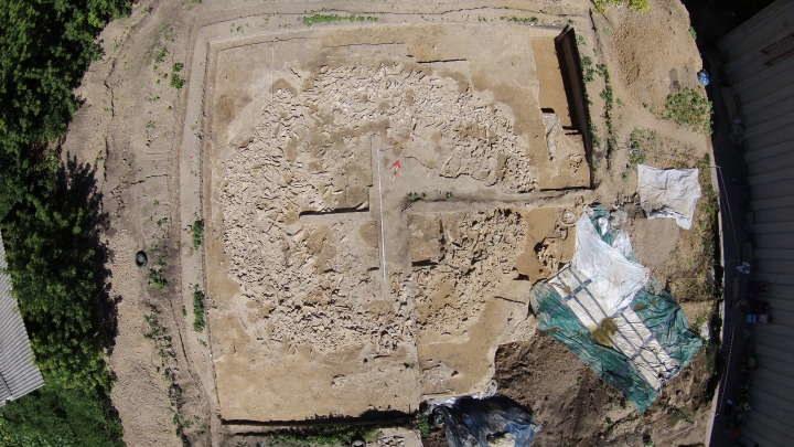 Tajemnicza struktura znaleziona w stanowisku archeologicznym Kostenki 11 /materiały prasowe