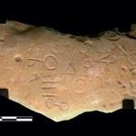 Tajemnicza tabliczka sprzed 2800 lat wypełniona dziwnymi symbolami