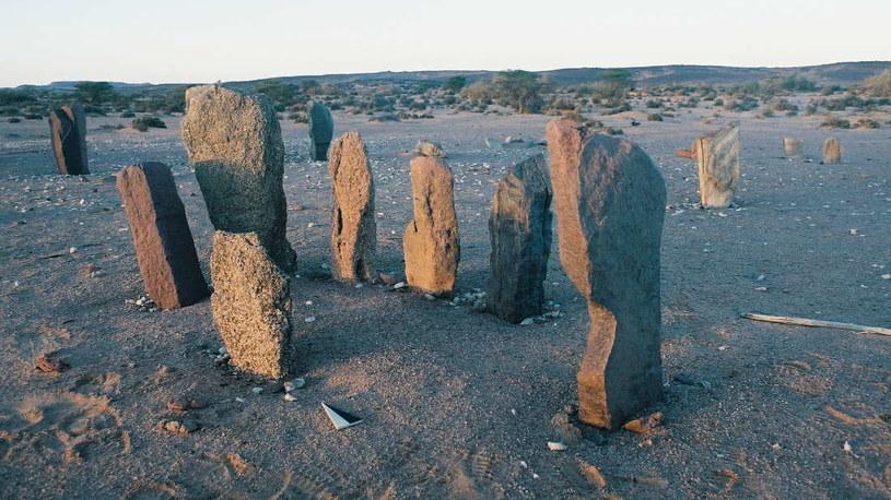 Tajemnicze monumenty na Saharze /materiały prasowe