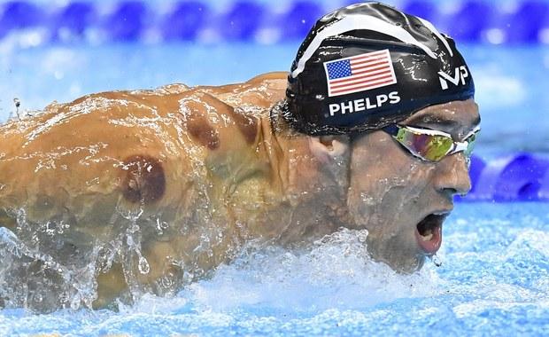 Tajemnicze plamy u Michaela Phelpsa? Bańki robią furorę w Rio!