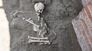 Tajemnicze szczątki odkryte w Pompejach