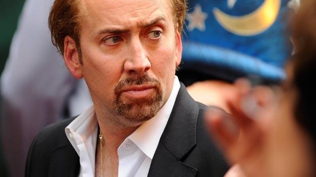 Tajemniczy Nicolas Cage nie ujawnił powodu rezygnacji - fot. Jemal Countess /Getty Images/Flash Press Media