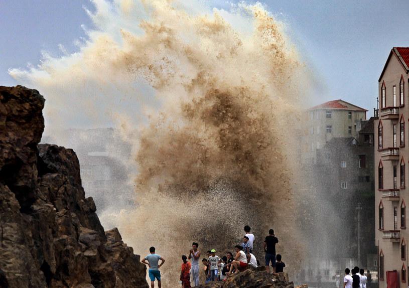 Tajfun dotarł już do Chin /AFP