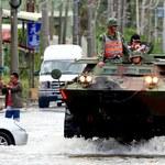 Tajfun nad Tajwanem. Życie na wyspie sparaliżowane, 80 osób rannych