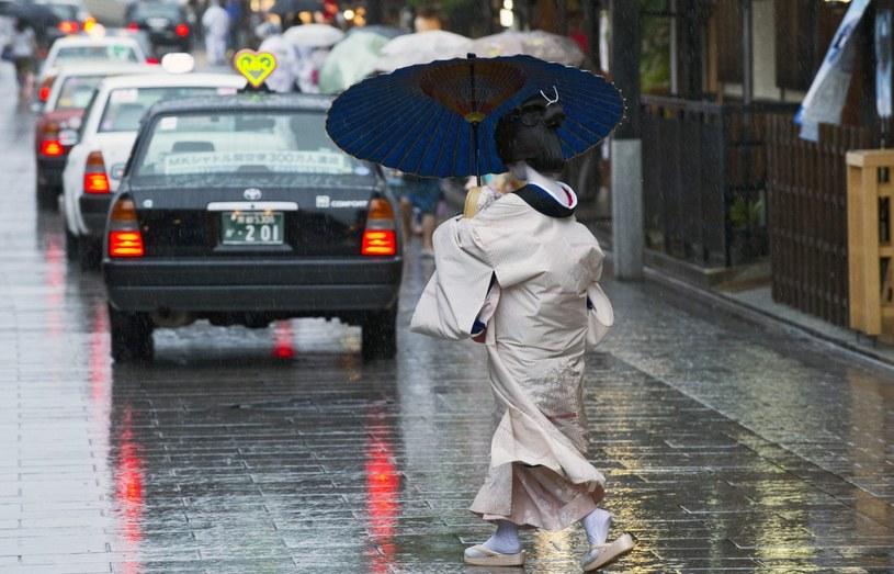 Tajfun Nangka nad południową i zachodnią Japonią /PAP/EPA