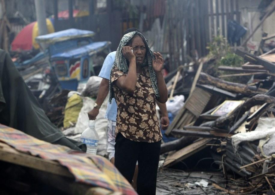 Tajfunu pochłonął ok. 3,6 tys. ofiar /RITCHIE B. TONGO /PAP/EPA