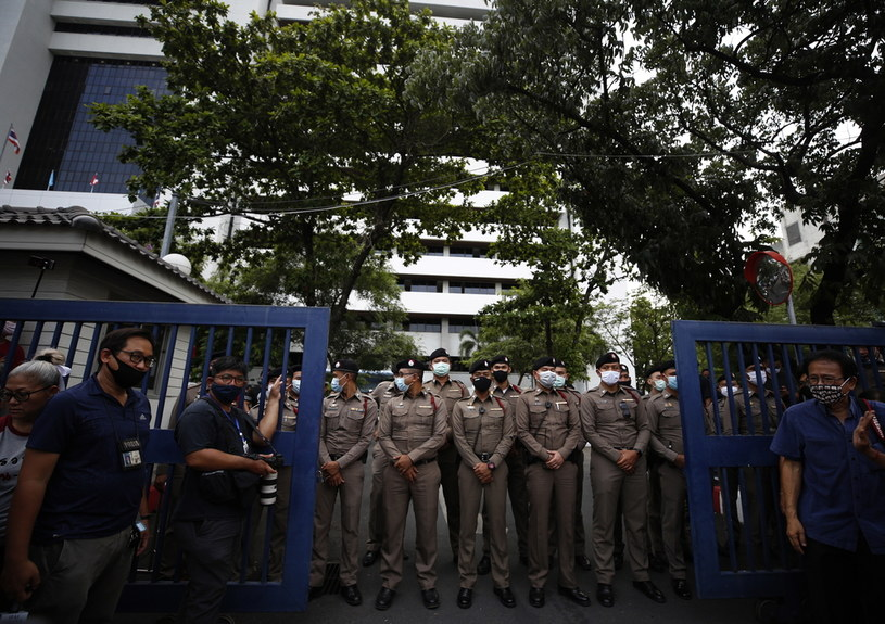 Tajlandzka policja /NARONG SANGNAK    /PAP