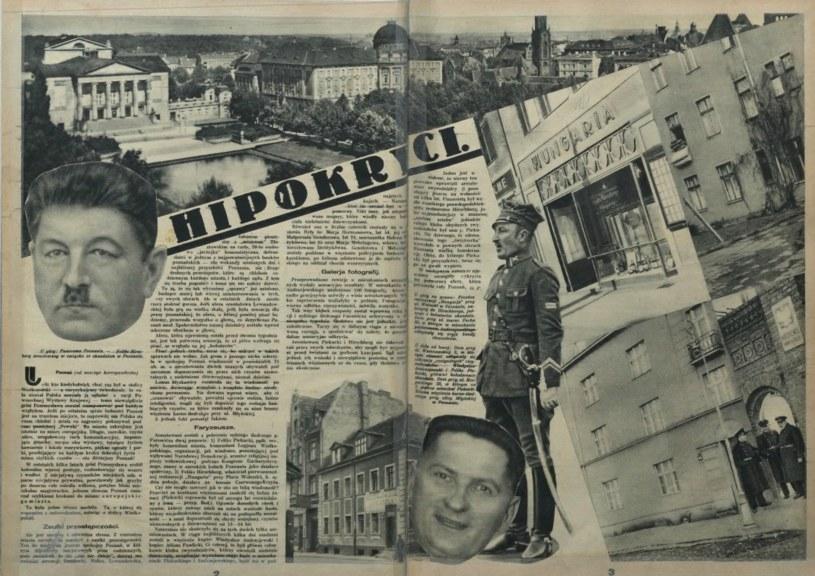 """""""Tajny Detektyw"""" z 3 kwietnia 1932 roku szeroko opisał aferę, która wstrząsnęła Poznaniem /Mazowiecka Biblioteka Cyfrowa /domena publiczna"""