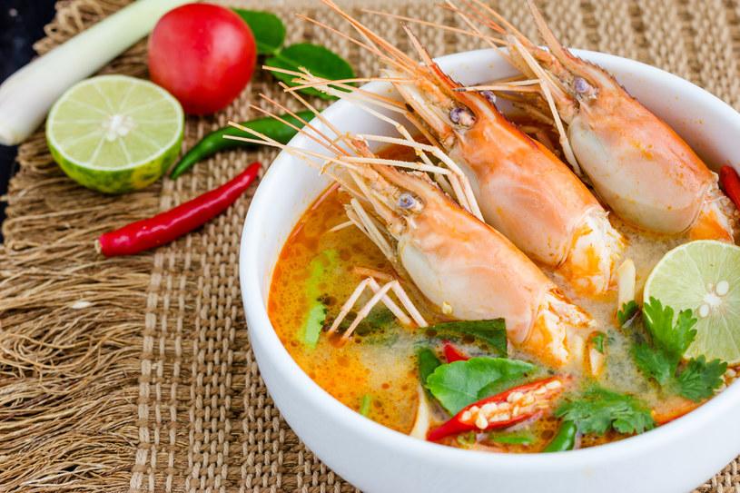 Tajska zupa tom yam goong /123RF/PICSEL