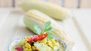 Tajskie zielone curry z kukurydzą