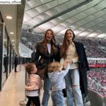 Tak Anna Lewandowska i Marina Łuczenko-Szczęsna kibicowały polskiej reprezentacji!