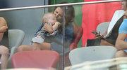Tak Anna Lewandowska z Klarą kibicowały Robertowi i reprezentacji Polski w meczu z Litwą
