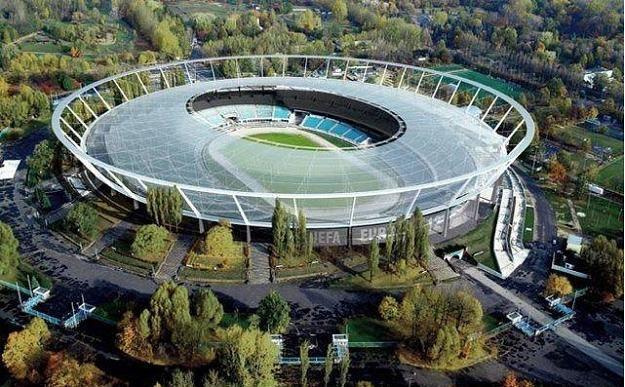 Tak będzie prezentował się Stadion Śląski po zakonczeniu przebudowy. /Informacja prasowa