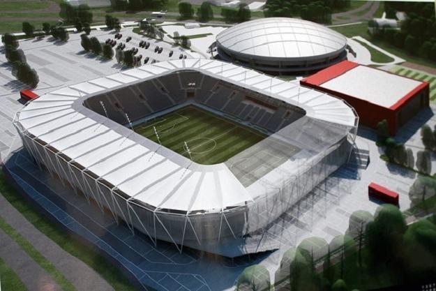 Tak będzie wyglądać nowy Stadion Miejski w Łodzi (wizualizacja/fot. Grzegorz Gałasiński) /Internet