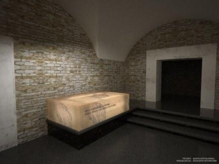 Tak będzie wyglądać sarkofag pary prezydenckiej /materiały prasowe