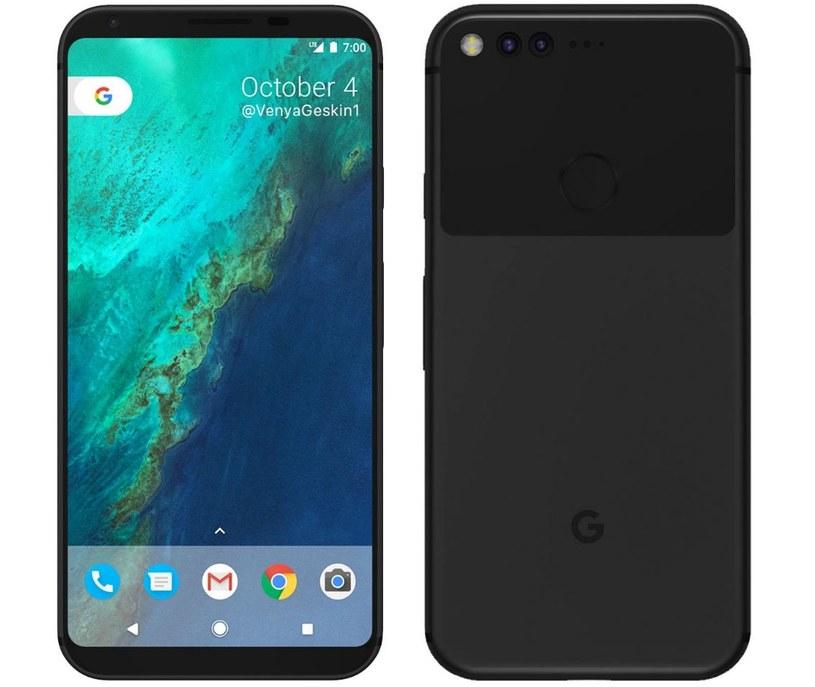 Tak będzie wyglądał Google Pixel 2 według Benjamina Geskina /Benjamin Geskin /Internet