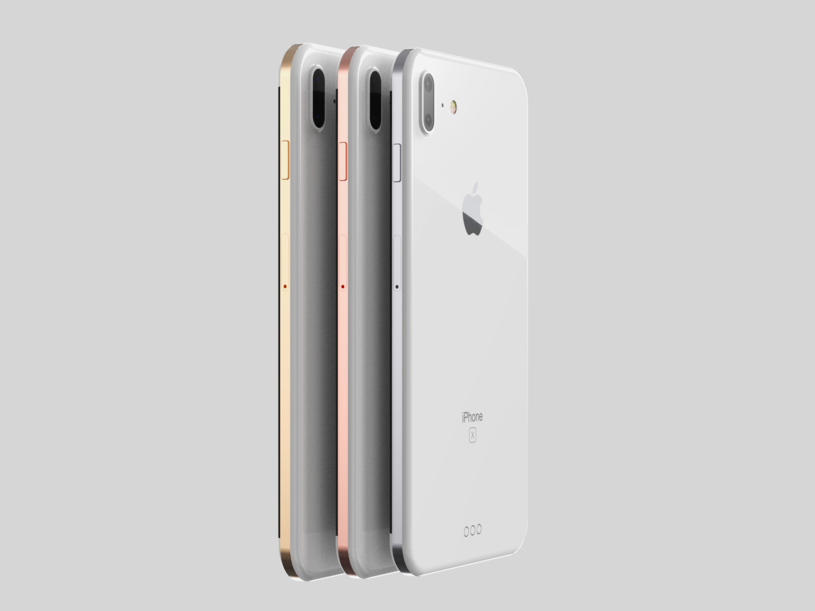 Tak będzie wyglądął iPhone X /fot. Behance /materiały prasowe