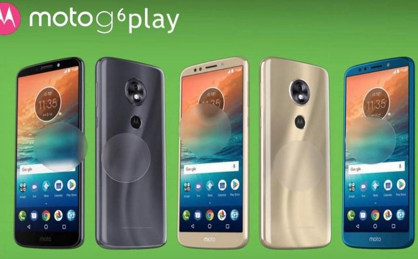 Tak będzie wyglądał model G6 Play /DroidLife /Internet