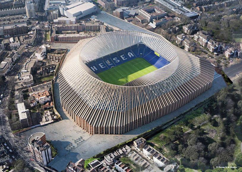 Tak będzie wyglądał nowy Stamford Bridge? /materiały prasowe