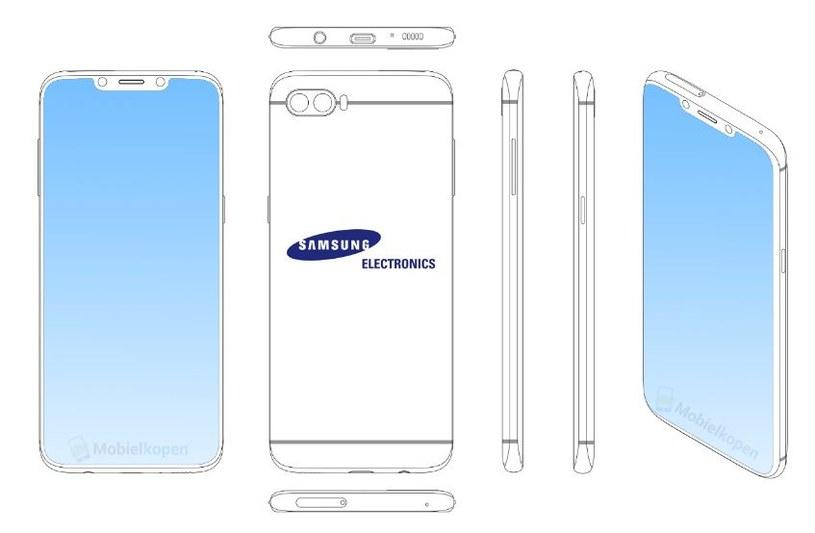 Tak będzie wyglądał Samsung Galaxy S10? /Mobilekopen /materiał zewnętrzny